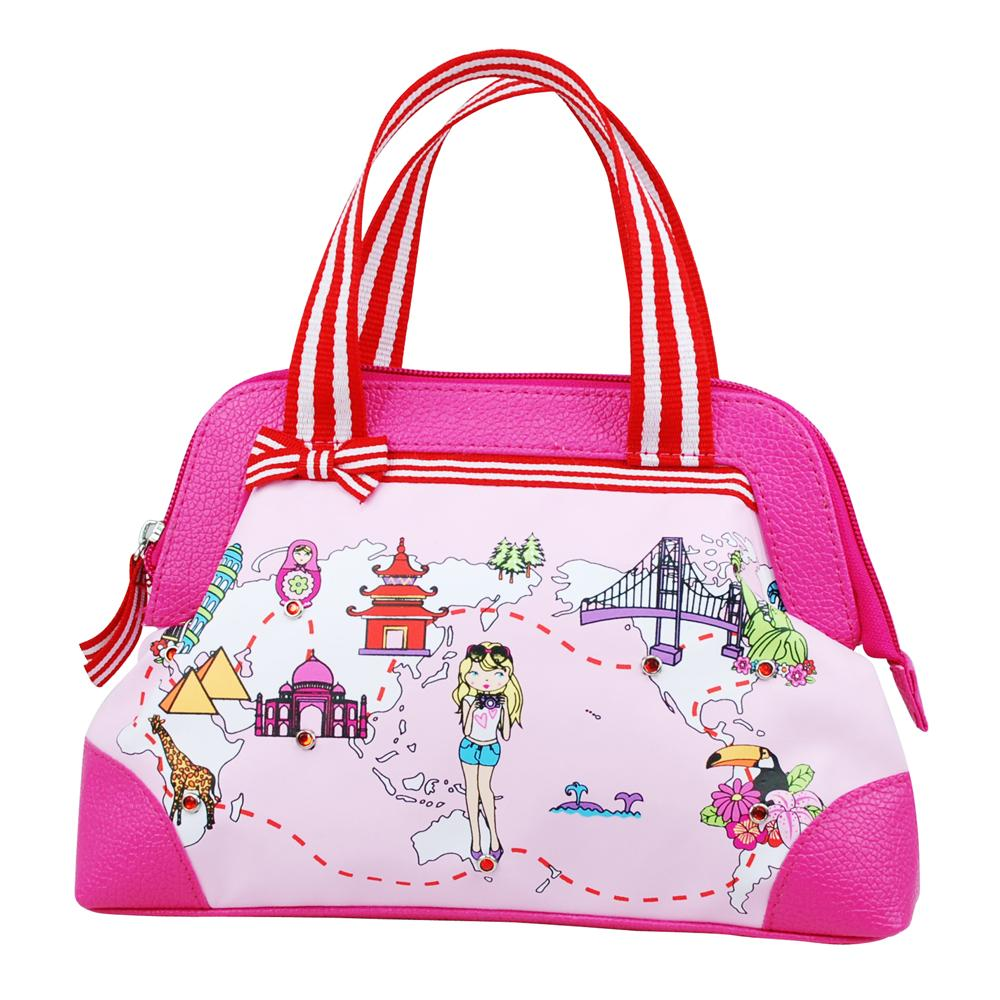 Pink Poppy world handbag-pink - Pink Poppy