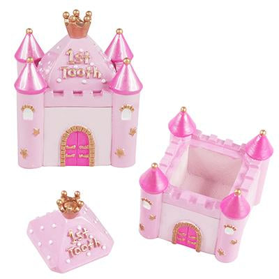 Mini 1St Tooth Chest-Pale Pink - Pink Poppy