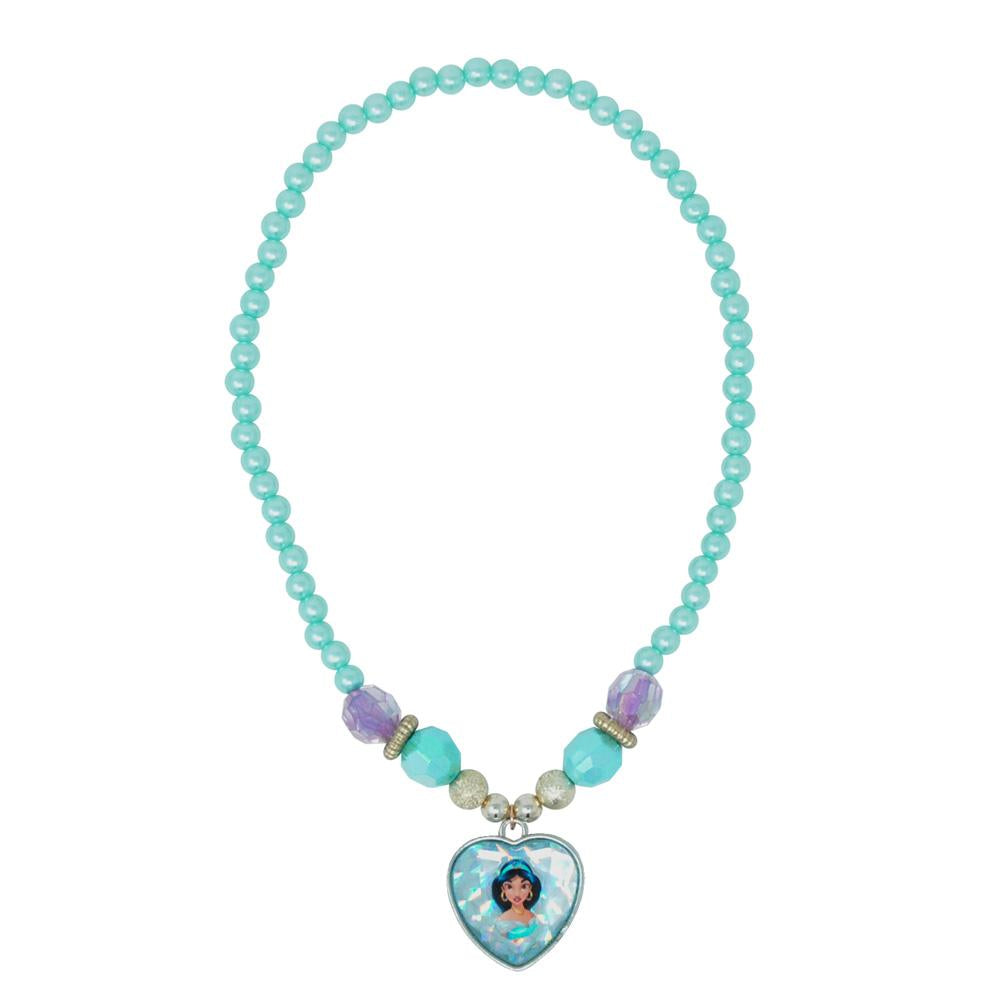 Disney Princess Jasmine Necklace - Pink Poppy