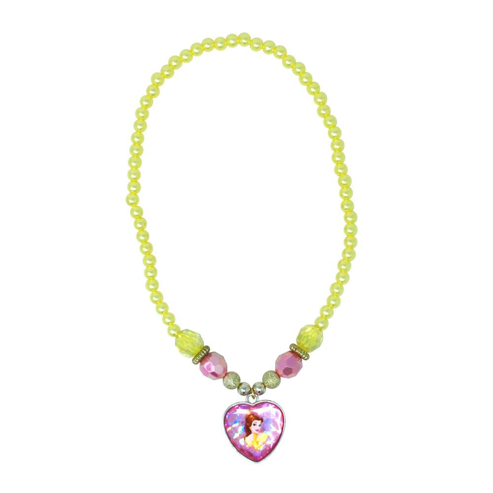 Disney Princess Belle Necklace - Pink Poppy