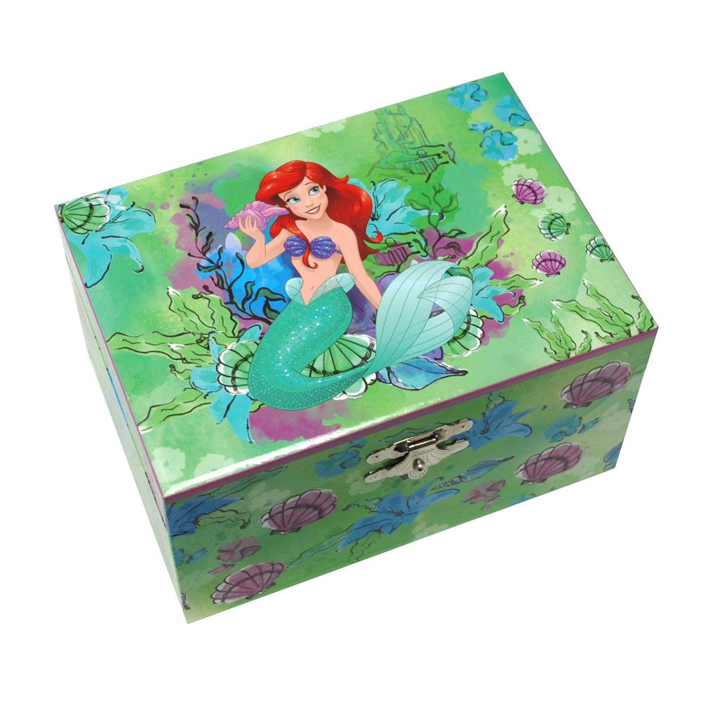 The Little Mermaid Medium Music Box - Pink Poppy