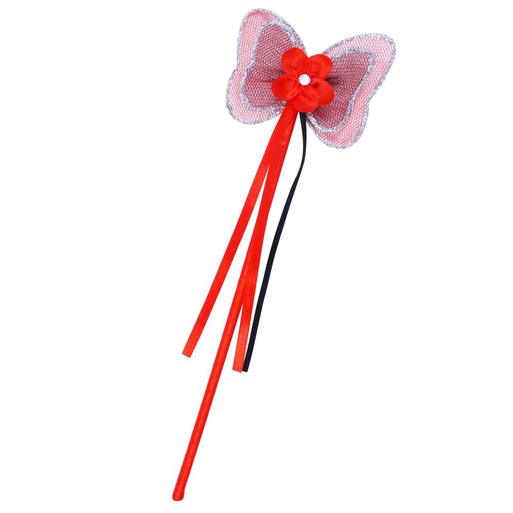 Lady Bug Fairy Wand - Pink Poppy