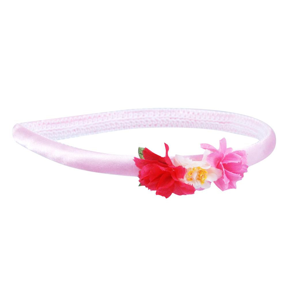 Garden Fairy Headband - Pink Poppy
