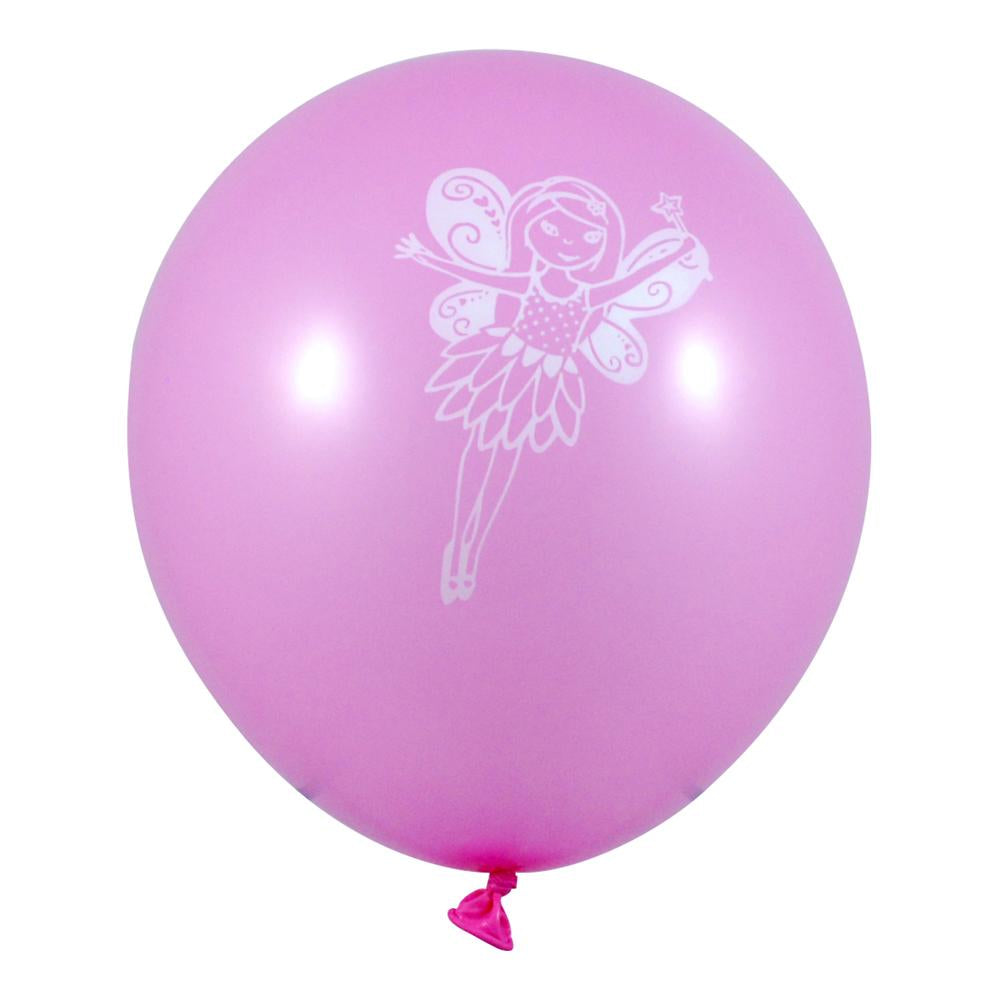 Fairy/princess balloon-8pc/pack - Pink Poppy