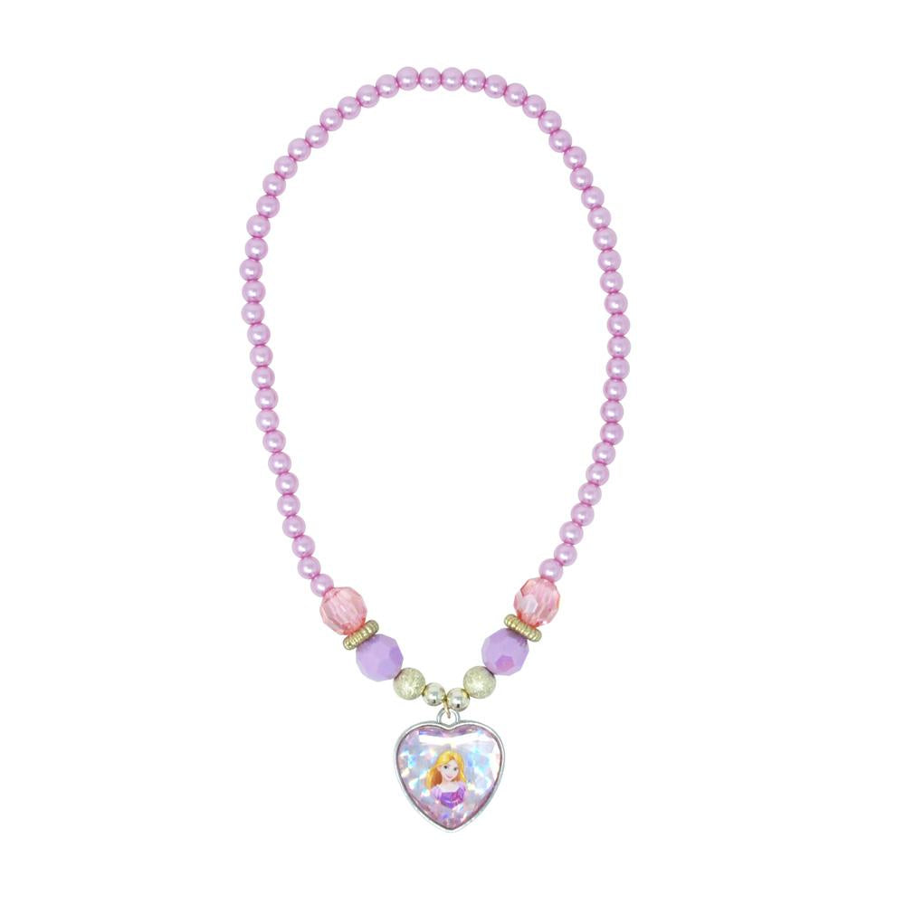 Disney Princess Rapunzel Necklace - Pink Poppy