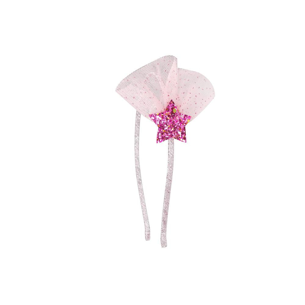 Magical wishing star headband - Pink Poppy