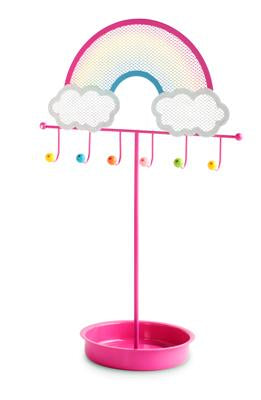 Over the rainbow jewellery stand - Pink Poppy