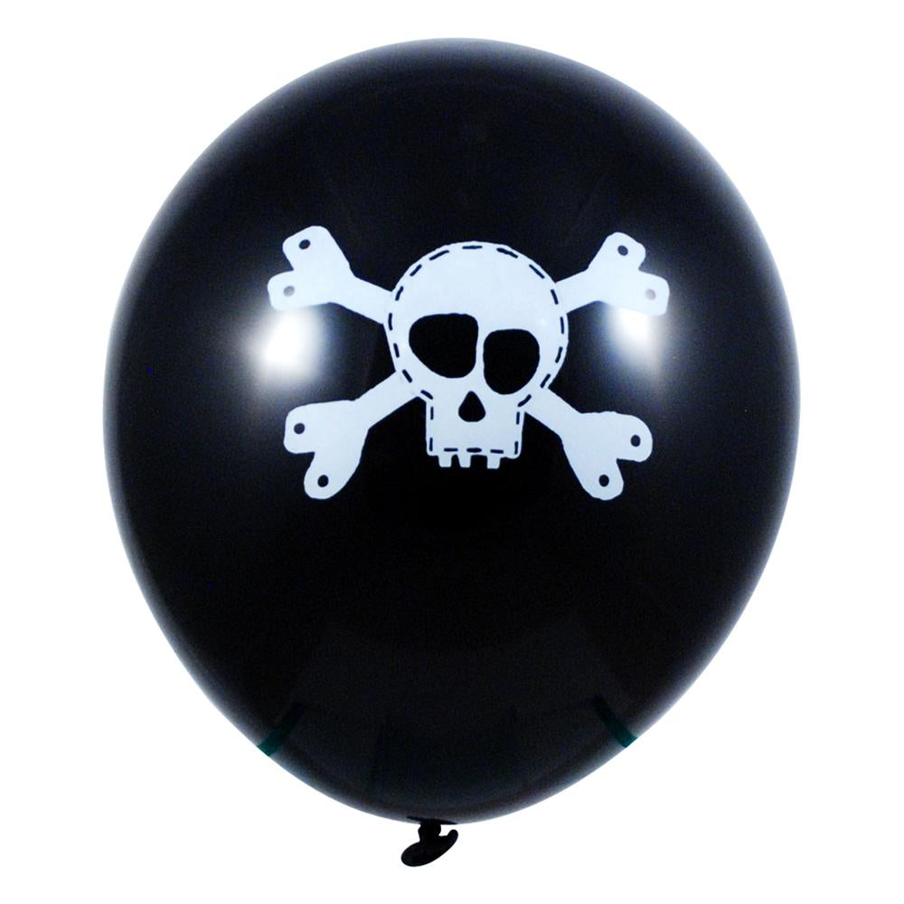 Pirate Balloon-8Pc/Pack - Pink Poppy
