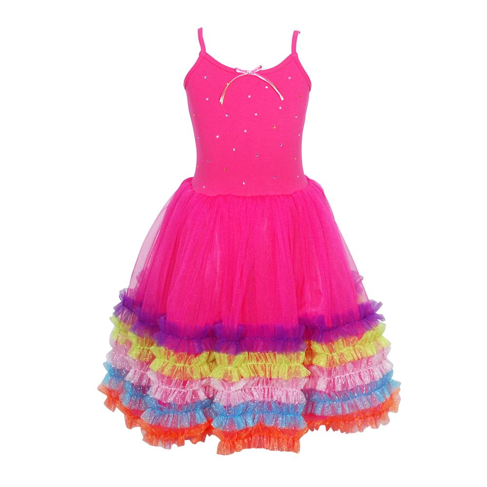 Fiesta dress size 3/4-hot pink - Pink Poppy
