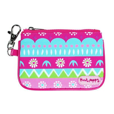 Fiesta Coin Purse-Hot Pink - Pink Poppy