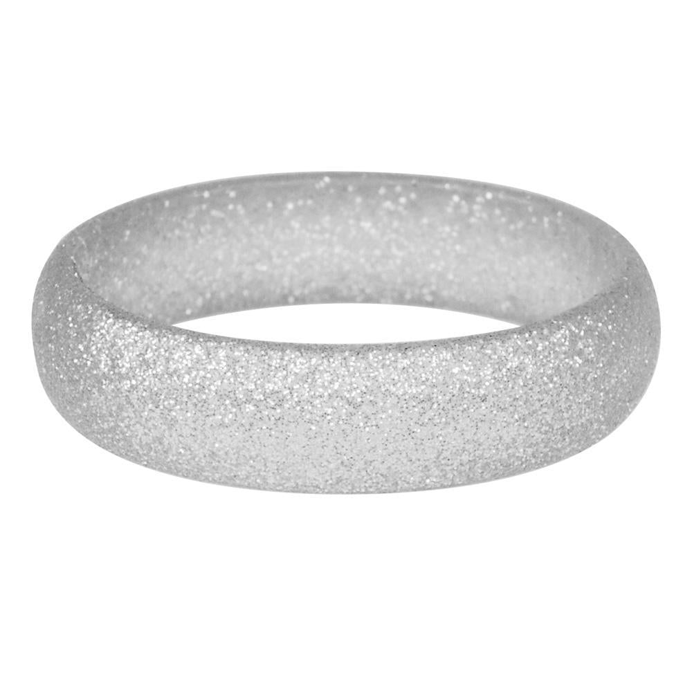 Festive sparkle glitter bangle - Pink Poppy