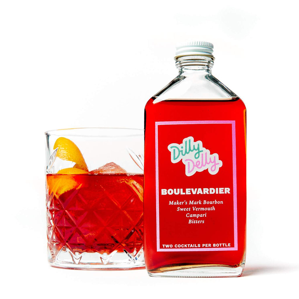 Boulevardier Bottled Cocktail