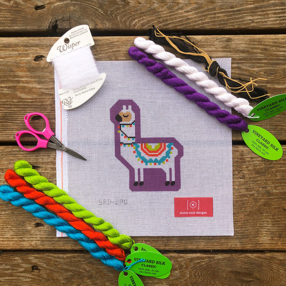 Larry the Llama (Purple) Kit