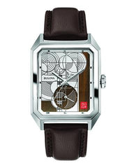 Frank Lloyd Wright Hoffman House Carpet Numbered-Edition Watch front