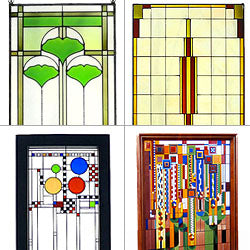 Wright Art Glass Panels
