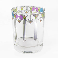 Frank Lloyd Wright Double Old Fashioned Glasses - April Showers