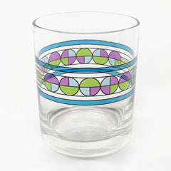 Frank Lloyd Wright Double Old Fashioned Glasses - Saguaro Flowers
