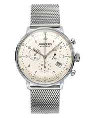 Junkers Bauhaus 6086-5 Mesh Chronograph Watch