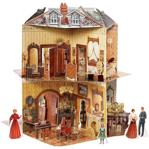 Pop-Up Victorian Dollhouse