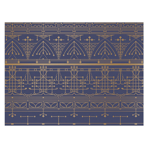 Beautiful Greeting Assortment Notecard - Blue