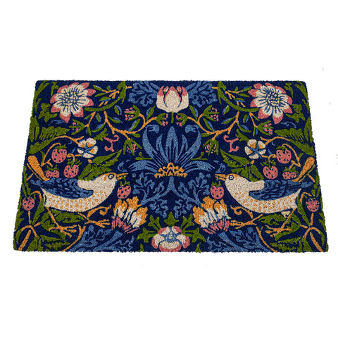 Arts & Crafts William Morris Strawberry Thief Doormat