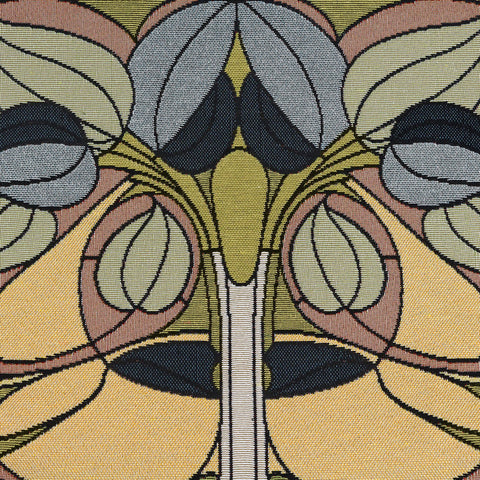 Arts & Crafts Art Nouveau Spring Floral Tapestry Placemat