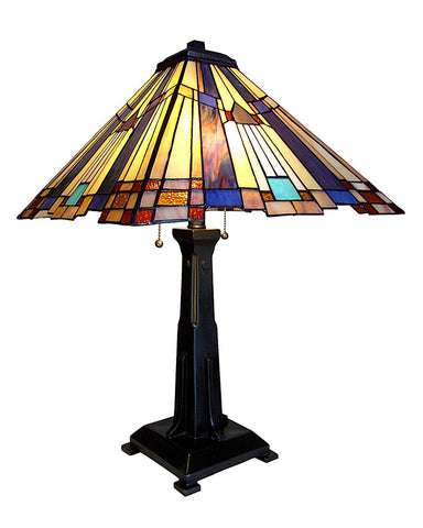 Arts & Crafts Mission 2 Table Lamp
