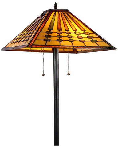 Arts and Crafts Chadrick Floor Lamp