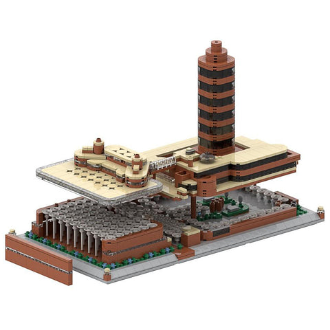 Frank Lloyd Wright SC Johnson Global Headquarters Architecture Building Brick Set 5