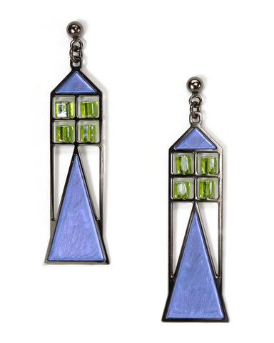 Babson Window Earrings