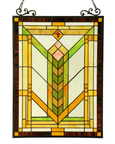 Arts and Crafts Barley Stained Glass