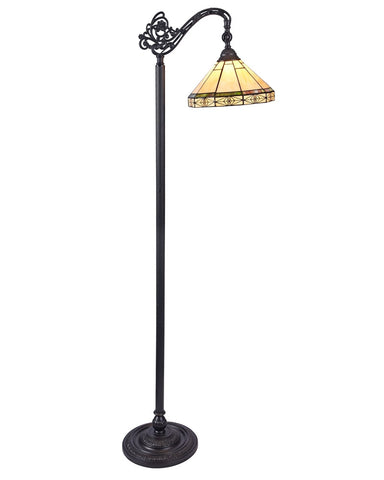 Arts & Crafts Belle Reading Floor Lamp