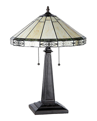 Belle Stained Glass Table Lamp Inset