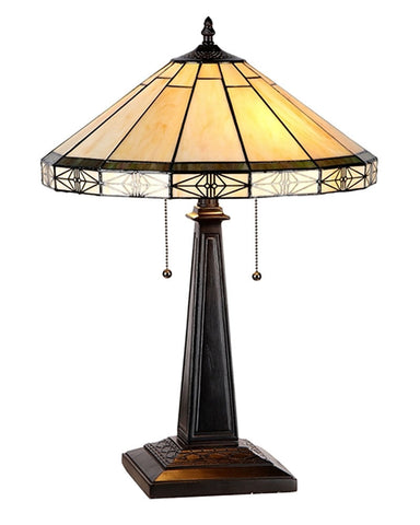 Belle Stained Glass Table Lamp