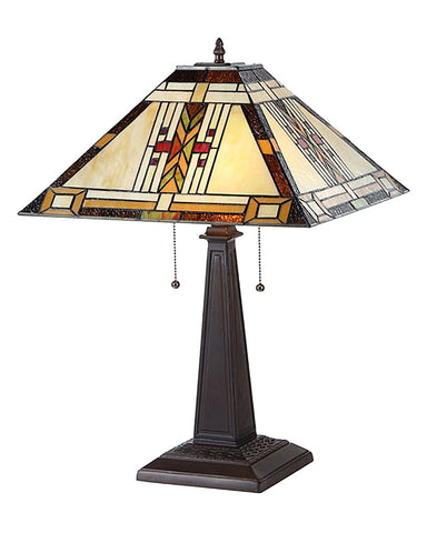 Gode Stained Glass Table Lamp