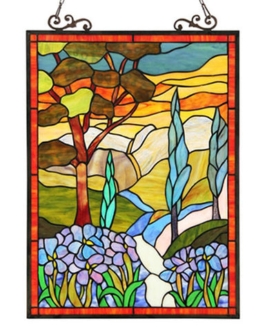 Almos Stained Glass Panel