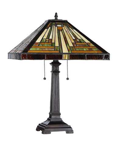 Innes Stained Glass Table Lamp Inset