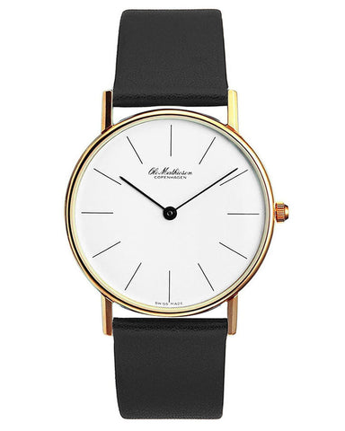 Classic Series Gold Plated Watch by Ole Mathiesen