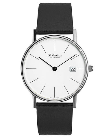 Classic Series Watch with Date by Ole Mathiesen