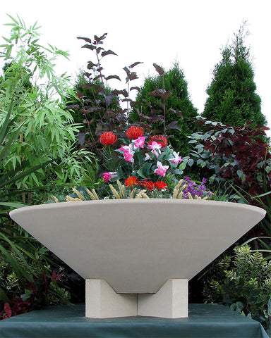 Essex Bowl Large Planter Vase With Feet