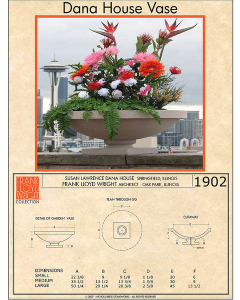 Creative Officewear Made Totally By Office Supply: Frank Lloyd Wright Large Dana House Planter Vase