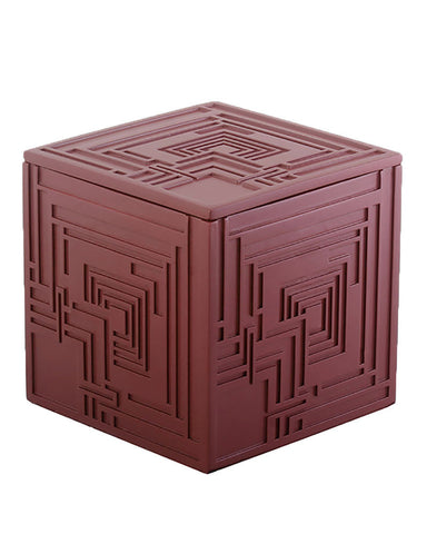 Frank Lloyd Wright Ennis House Textile Block Trinket Box
