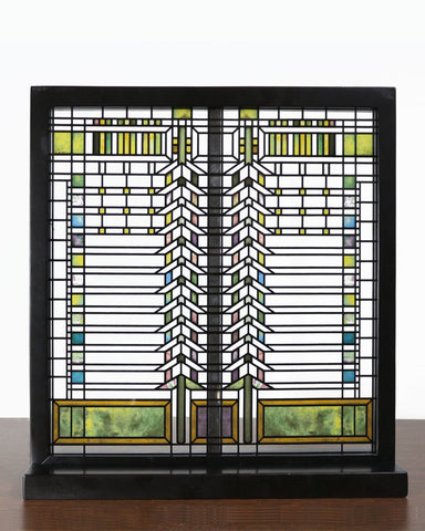 Frank Lloyd Wright Martin Casement Window Stained Glass