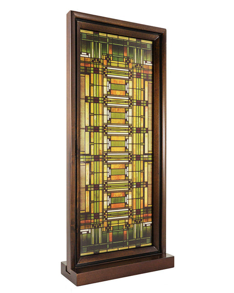 Creative Officewear Made Totally By Office Supply: Frank Lloyd Wright Oak Park Skylight Stained Glass Wood