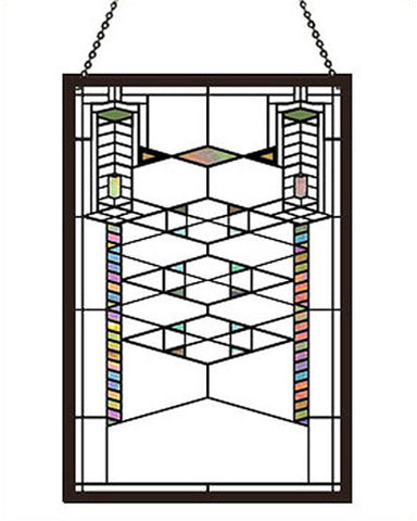 FLW Robie Stained Glass Suncatcher