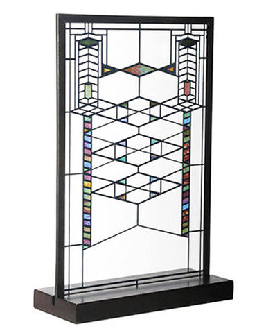 FLW Robie Stained Glass Suncatcher Inset