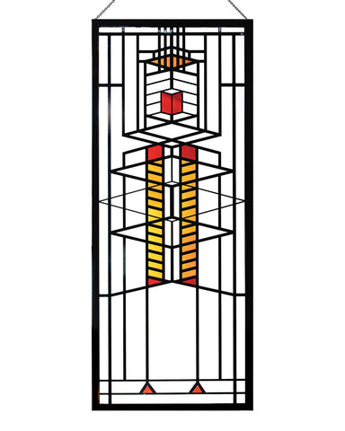 Frank Lloyd Wright Robie Window Stained Glass Hanging