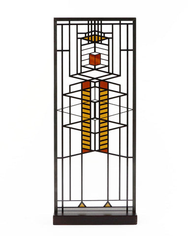 Frank Lloyd Wright Robie Window Stained Glass Front View