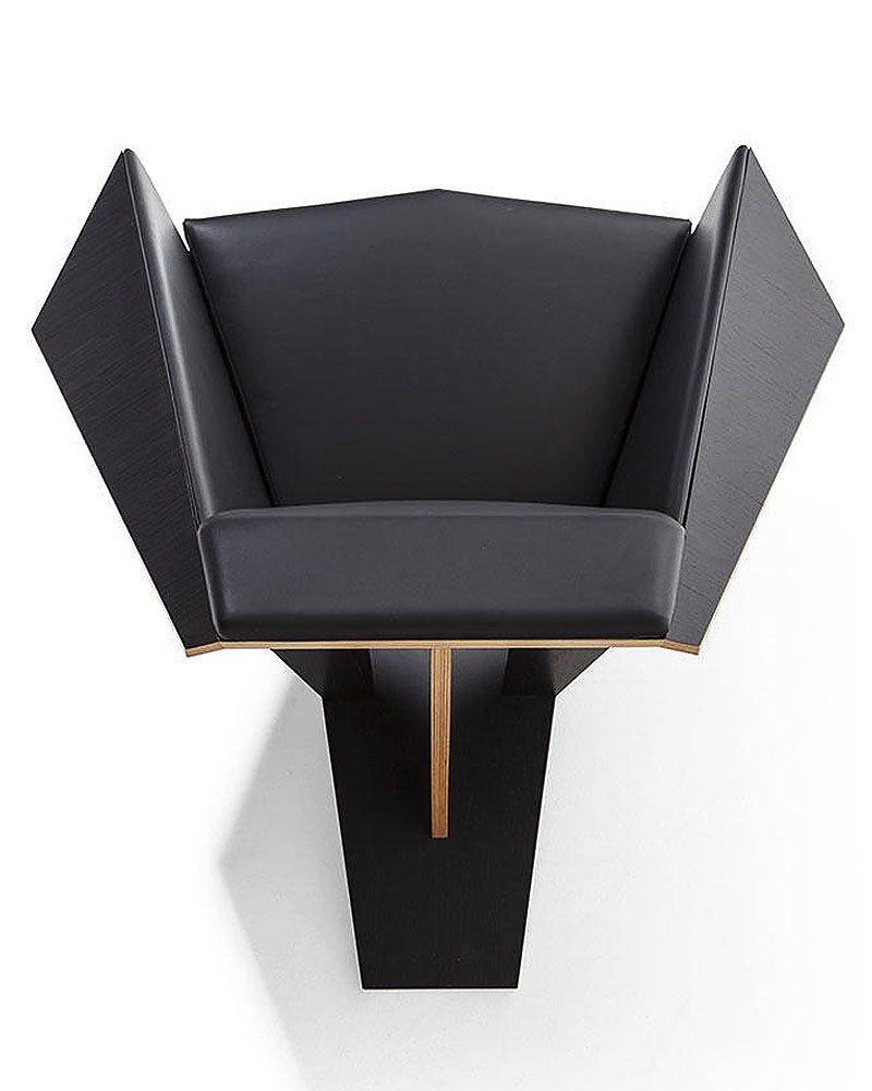 Wondrous Frank Lloyd Wright Taliesin Origami Chair Leather Pabps2019 Chair Design Images Pabps2019Com