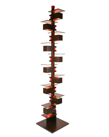 Frank Lloyd Wright Taliesin 2 Floor Lamp - Walnut fullview